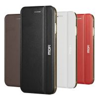 Mofi Flip Leather Cover with Frosted Back Cases for iPhone6&6P