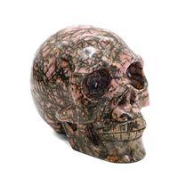 Rhodonite Skulls