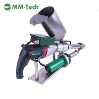 Plastic hand extrusion welder for HDPE membrane PP pipe,Geomembrane extrusion welding machine for ta thumbnail image