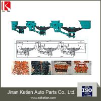 semi trailer fuwa type 3 axle suspension