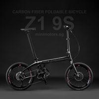 Z1 9S Carbon Fiber Folding Bike | Shimano Sora R3000 | Free Shipping & Assemble | 5 Years Warranty