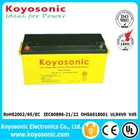 Good Quality 12V 90AH Solar Gel Battery Solar Street Light Battery
