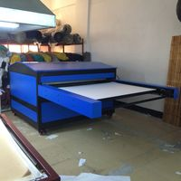 automatic large format sublimation heat press machine for textile factory printing