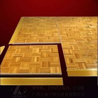 High-grade teak stage floor