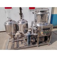 Home microbrewery stainless steel 50L brewing system for sale