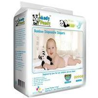 Andy Pandy-Size Small (6-16lbs)-Premium Bamboo Disposable Diapers-Give the Best To Your Baby & Be Go