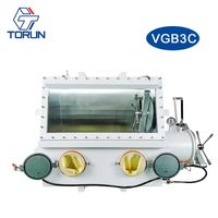 Isolation & Containment Glove Box,stainless steel vacuum glovebox filling with high purity inert gas