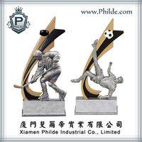 Hockey Soccer Superstar Sport Trophy,Awards Trophy