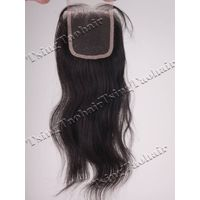 Indian Remy Hair Swiss Lace Closure 3.5x4 SLC001