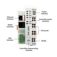 Analog Digital intput output optional PLC controller
