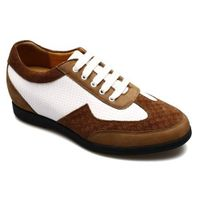 Taller Leisure Hiking Casual board Shoes Increase men Height Shoes