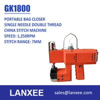 Lanxee GK1800 single needle single thread chain stitch bag closer thumbnail image