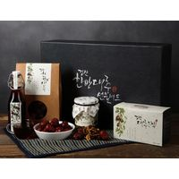 Hanbang Bogam Luxury Gift Set No.1_Dried jujube+Jujube chips+Jujube extract+Jujube fermented vinegar