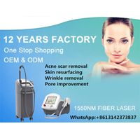 skin clinic equipment fiber laser 1550nm Erbium laser Anti Aging Wrinkle removal Machines