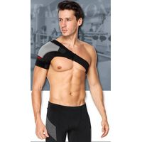 Sports Single Shoulder Brace Support Strap Wrap Belt Band