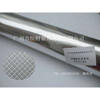 Embossed aluminum foil