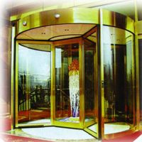 Four-wing Automatic Revolving sliding glass door (with exhibition box) thumbnail image