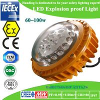 60w/80w/100w BHD-8610 atex LED explosion proof light for sale