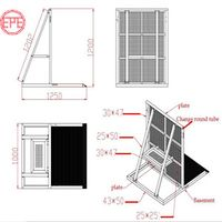Aluminum Crowd Control Barrier Event Concert Temporary Fence thumbnail image