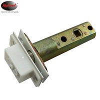 60mm Zinc alloy magnetic latch for door lock self locking door latch