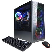 CyberpowerPC Gamer Xtreme VR Gaming PC, Intel i5-10400F 2.9GHz, GeForce GTX 1660 Super 6GB, 8GB DDR4