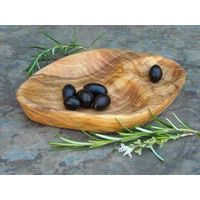 Olive wood dishes/olive plat, heart dish, oval ...