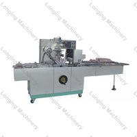 Automatic Cellophane Packaging Machine with Stainless Steel
