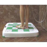Heat recovery shower trays, Anti-slip massage mat