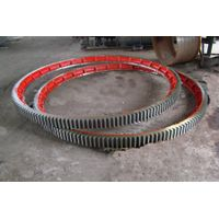 cooling machine large ring gear supplier in China, casting large ring gear, high quality large ring