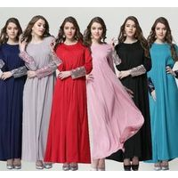 high quality hot sell muslim women abaya kaftan dress