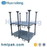 High quality warehouse storage stacking hot dip galvanized pallet tires racking thumbnail image