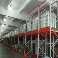 High quality warehouse storage push back racking system