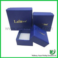 Promotional paper jewelry gift box wholesale