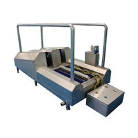 Automatic stainless steel boots washing station for industrial factory