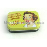 Mint tin box