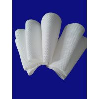 embossed hexagonal spunlace nonwoven fabric