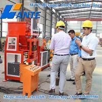WT2-10 interlocking brick machine