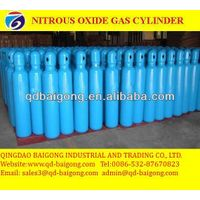 Medical laughing gas cylinder steel medical nitrous oxide gas cylinder