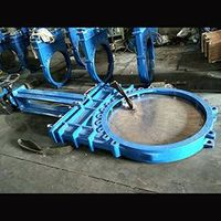 Dn1000 Pn10 DIN Non-Rising Stem Ductile Iron Ggg40 Gjs400-15 Knife Gate Valve One Piece Body Structu