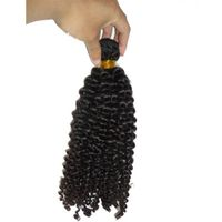 brazilian virgin hair bundle weft kinky wave  best quality tangle free