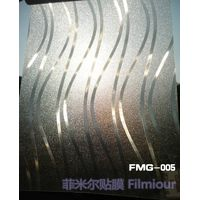 PVC decorative window film FMG-005(no glue, static cling)