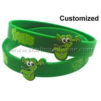Custom Silicone Wristbands / Silicone Bracelets-STARLING