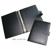 Custom A5 PU Leather Conference File Folder