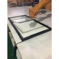 Aluminum light box for indoor advertising