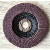 Fired aluminum oxide flap disc