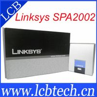 Linksys SPA2002 Analog telephone Adapter voip router