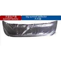 car universal sunroof visor big size black color