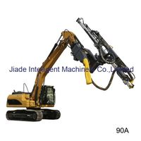 excavator mounted drilling attachment JD-90A