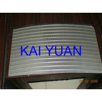 wedge wire flat panel