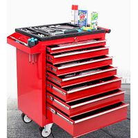 Heavy 7 drawers tool cabinet tool trolley